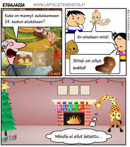 Joulukalenterin luukku 21