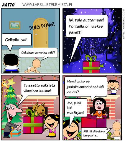 Joulukalenteri luukku 24